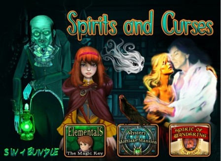 Spirits and Curses 3 in 1 Bundle (Hidden Object Game from Big Fish)