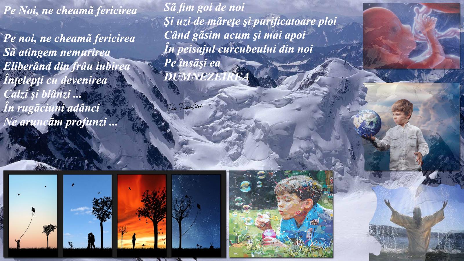 pe noi ne cheama fericirea poezie viata divinitate nemurire iubire frumos devenire filosofie Maria Teodorescu Bahnareanu Wrinkles on my Timeline