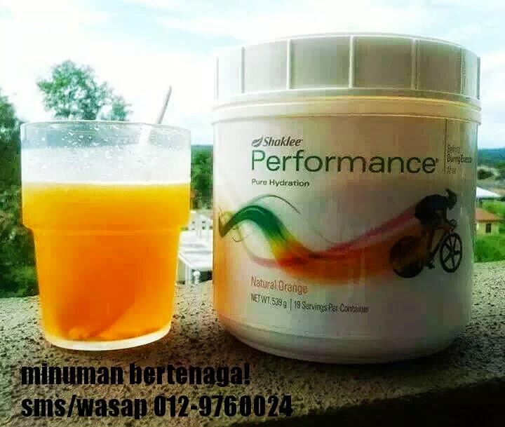Minuman Untuk Yang Aktif Bersukan |Performance Drink Shaklee