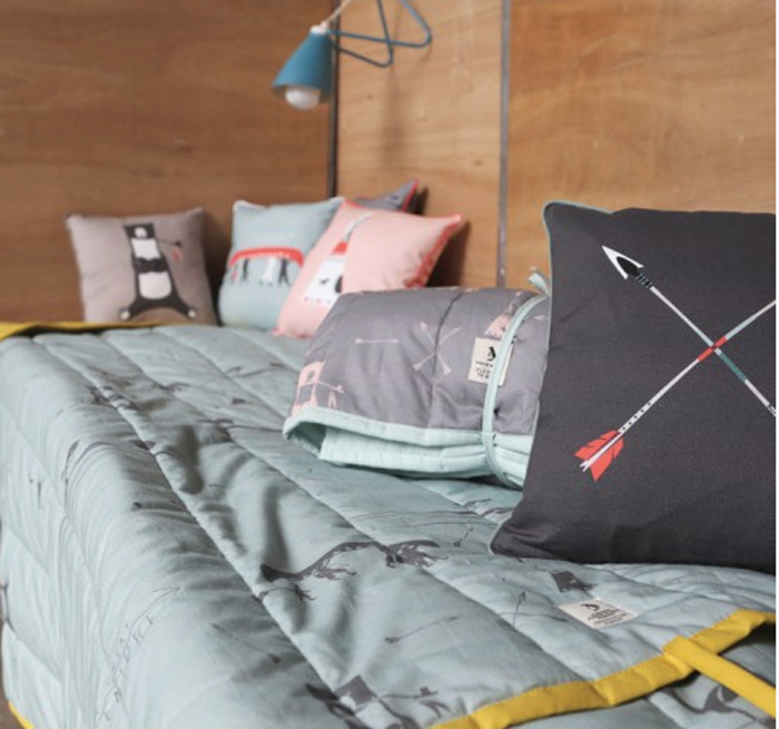 pillows plaids from german brand pleased to meet