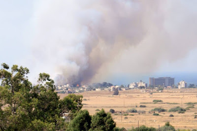 ghost town of Cyprus fire