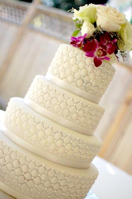 Quilt Design Wedding Cake : heidi schatze: Trend: Quilted