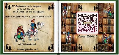 "LIBRO VIRTUAL ""DON QUIJOTE CON LAS TIC"""