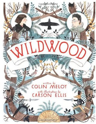 www.enchantedexcurse.com Book Review on Wildwood By Colin Meloy