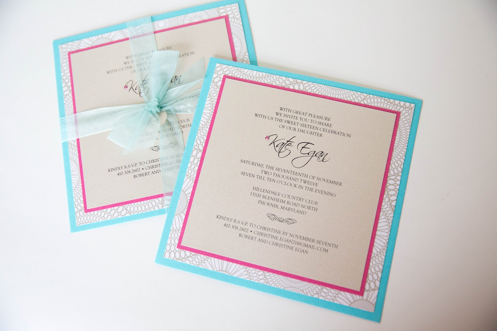 Sweet 15 Invitation Cards as awesome invitation layout