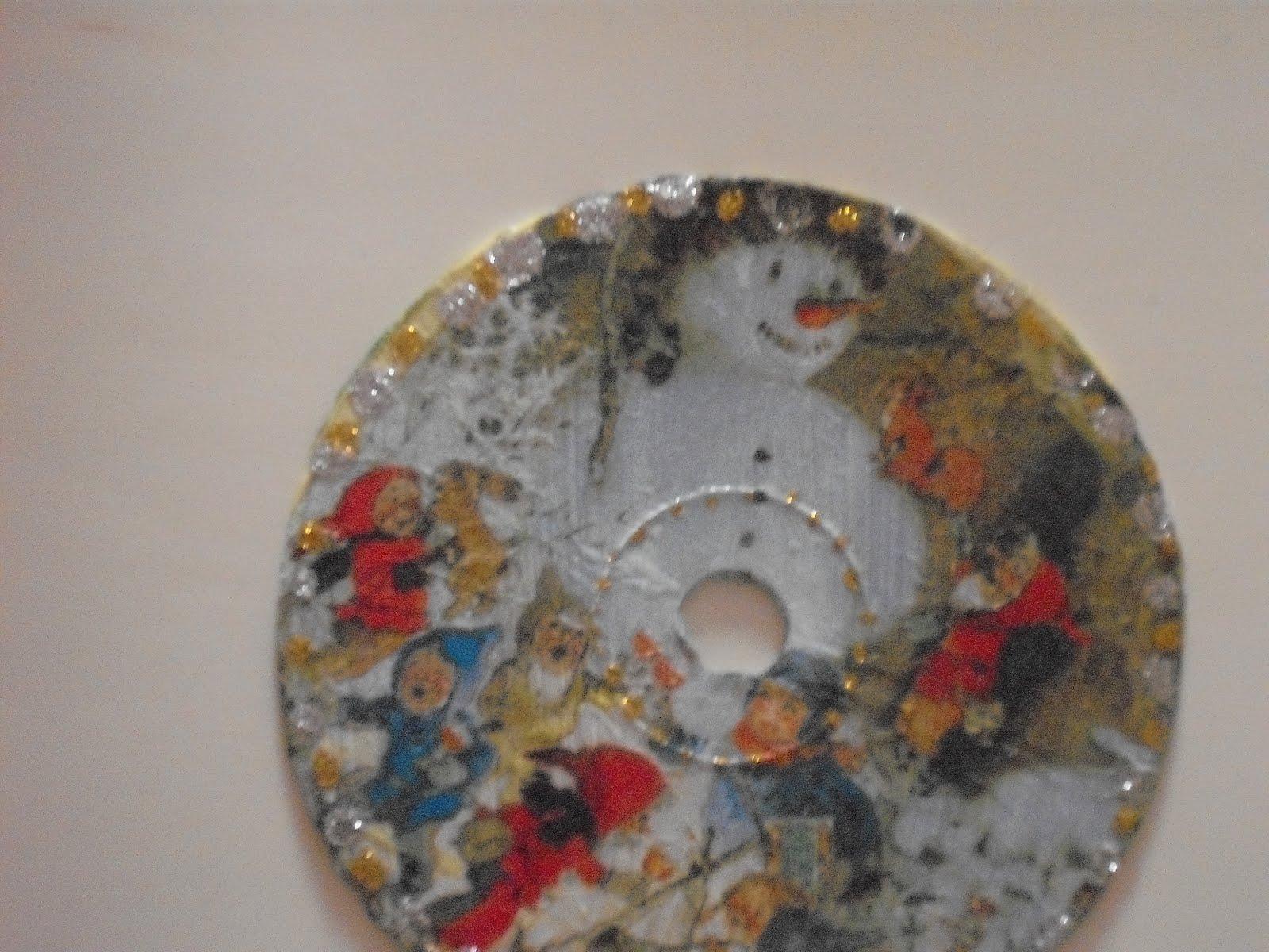 mais um cd reciclado