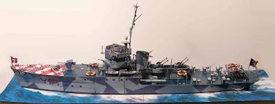 Battleships Baionetta Papercraft (F 578), 1943