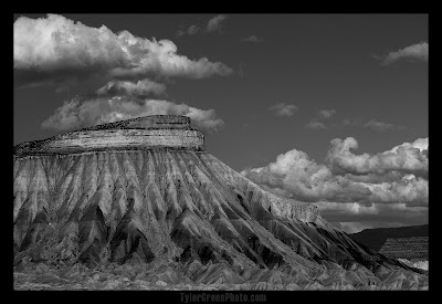 Mount Garfield above Grand Junction Colorado