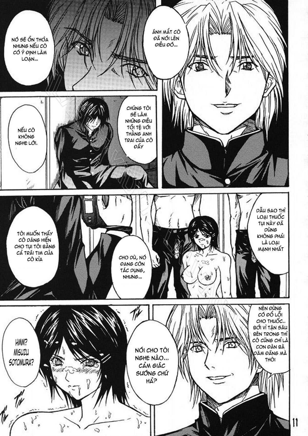 TruyenHay.Com - Ảnh 10 - Ryoujoku Rensa Chapter 2