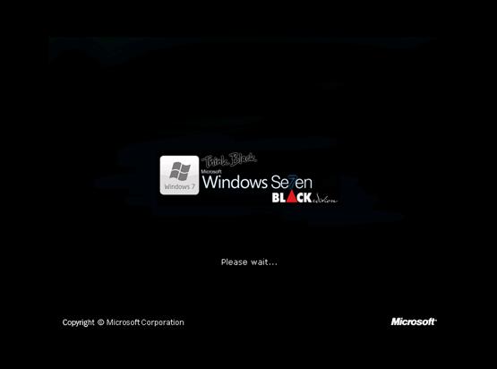 Windows Se7en XP Black Edition 2010 [Update 8-2010] scr1