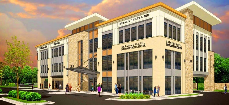 Groundbreaking of Briar Chapel's Commercial Parcels Underway