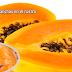 Papaya para manchas en el rostro