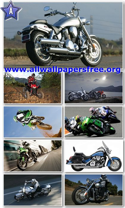 60 Amazing Motorcycles HD Wallpapers 1366 X 768 [Set 8]