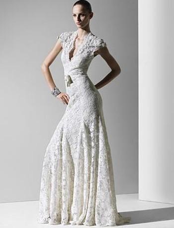 Brautkleider Mode von Monique Lhuillier - Beste Brautkleide