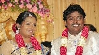 Actor Black Pandi Wedding Reception