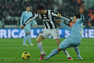 Hasil Pertandingan Juventus Vs Lazio 23 Januari 2013