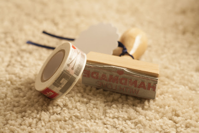 Dwanda Masking Tape mit Handmade Stempel
