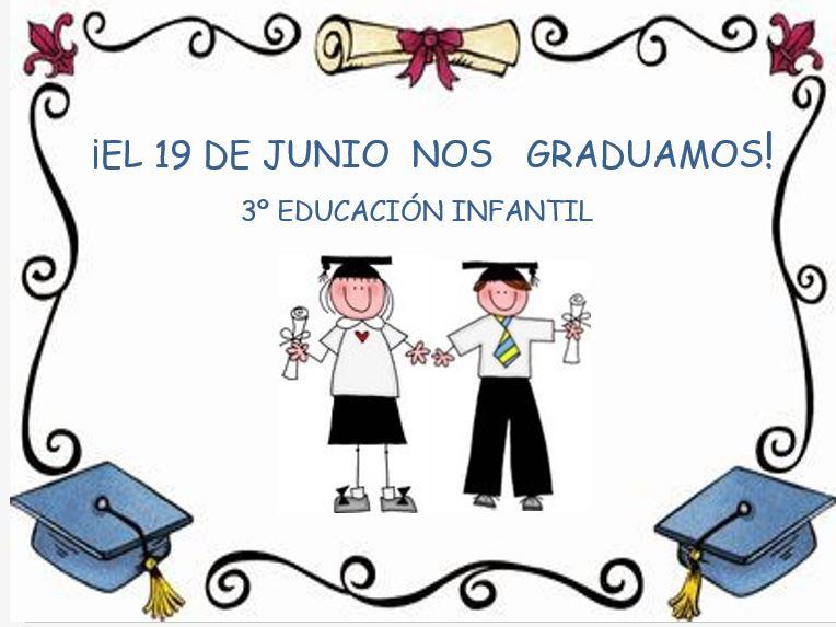 de la Merced: Convocatoria Graduación de 3º de Educación Infantil