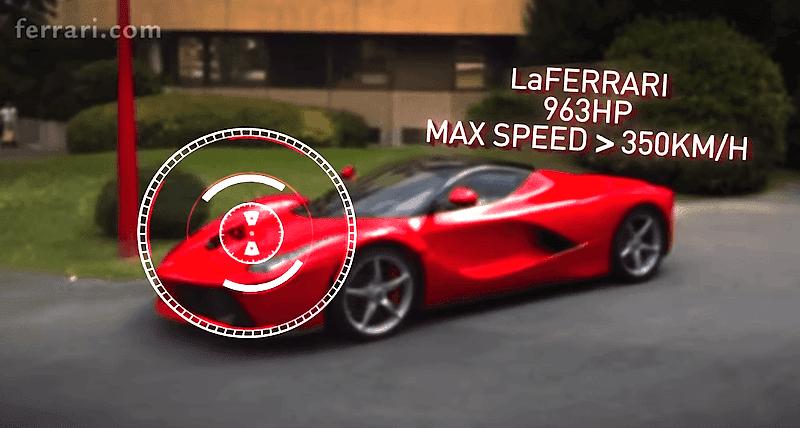 フェラーリがFacebookファン1500万人突破を記念し「ラ フェラーリ」を使った動画を公開