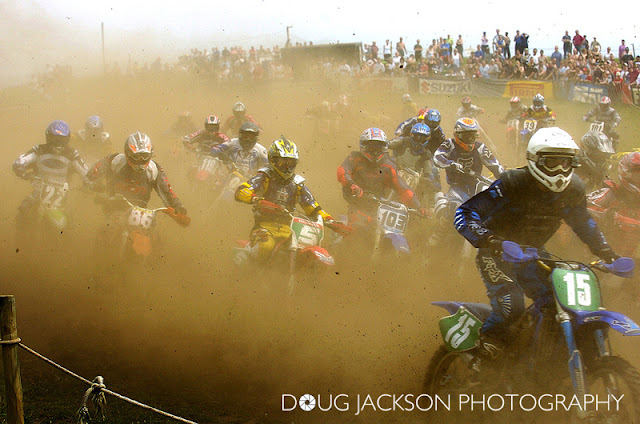 SKELDER MOTOCROSS START NEAR WHITBY