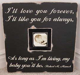 Black Distressed Sugarboo Box Frame (SOLD)