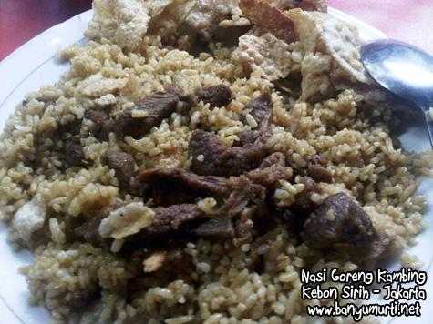 Kuliner Jakarta - Nasi Goreng Kambing Kebon Sirih