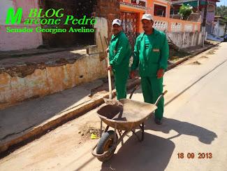 Prefeitura de Senador Georgino Avelino já conseguiu nesses 9 meses limpar toda a Cidade