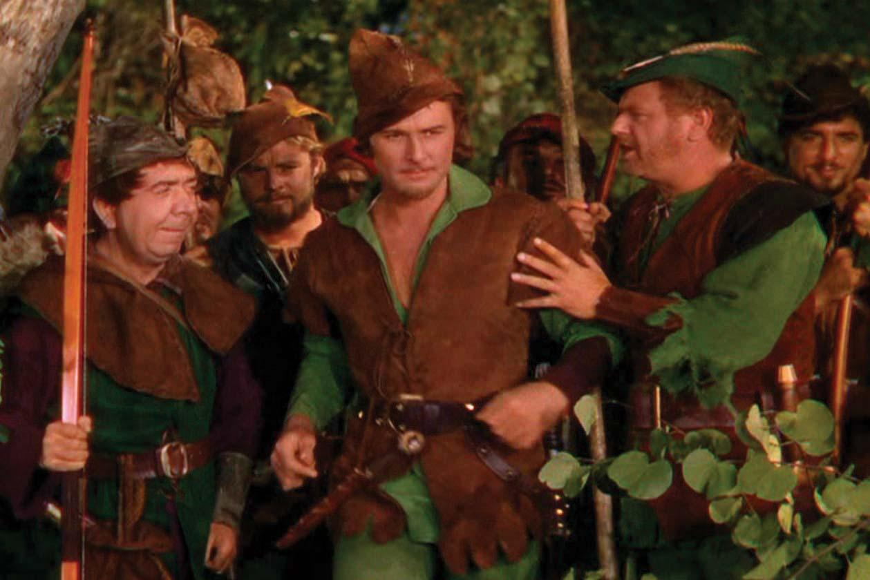 adventures of robin hood the 1938 a march through