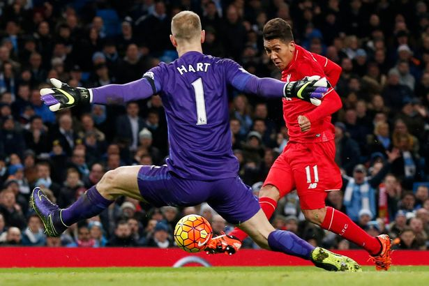 Thankless task: Hart did well even as City were thrashed