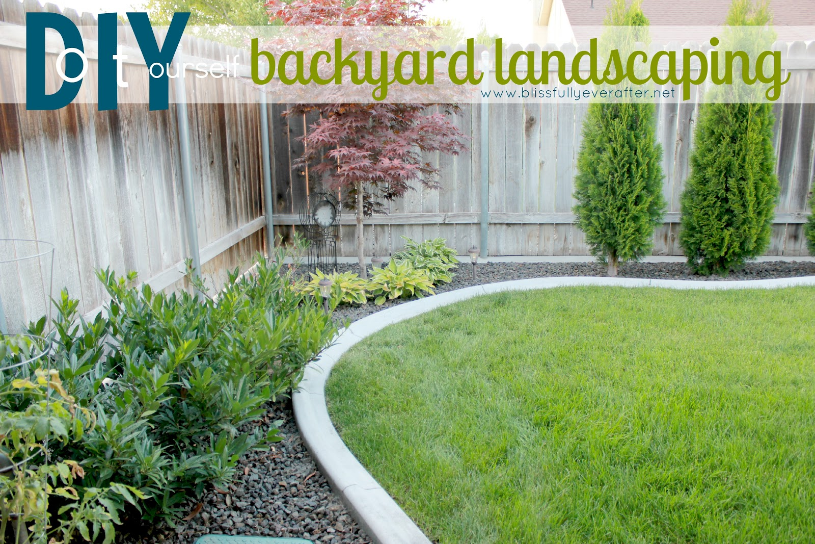 Cheap and easy backyard ideas 2017 2018 best cars reviews for Yard landscaping ideas