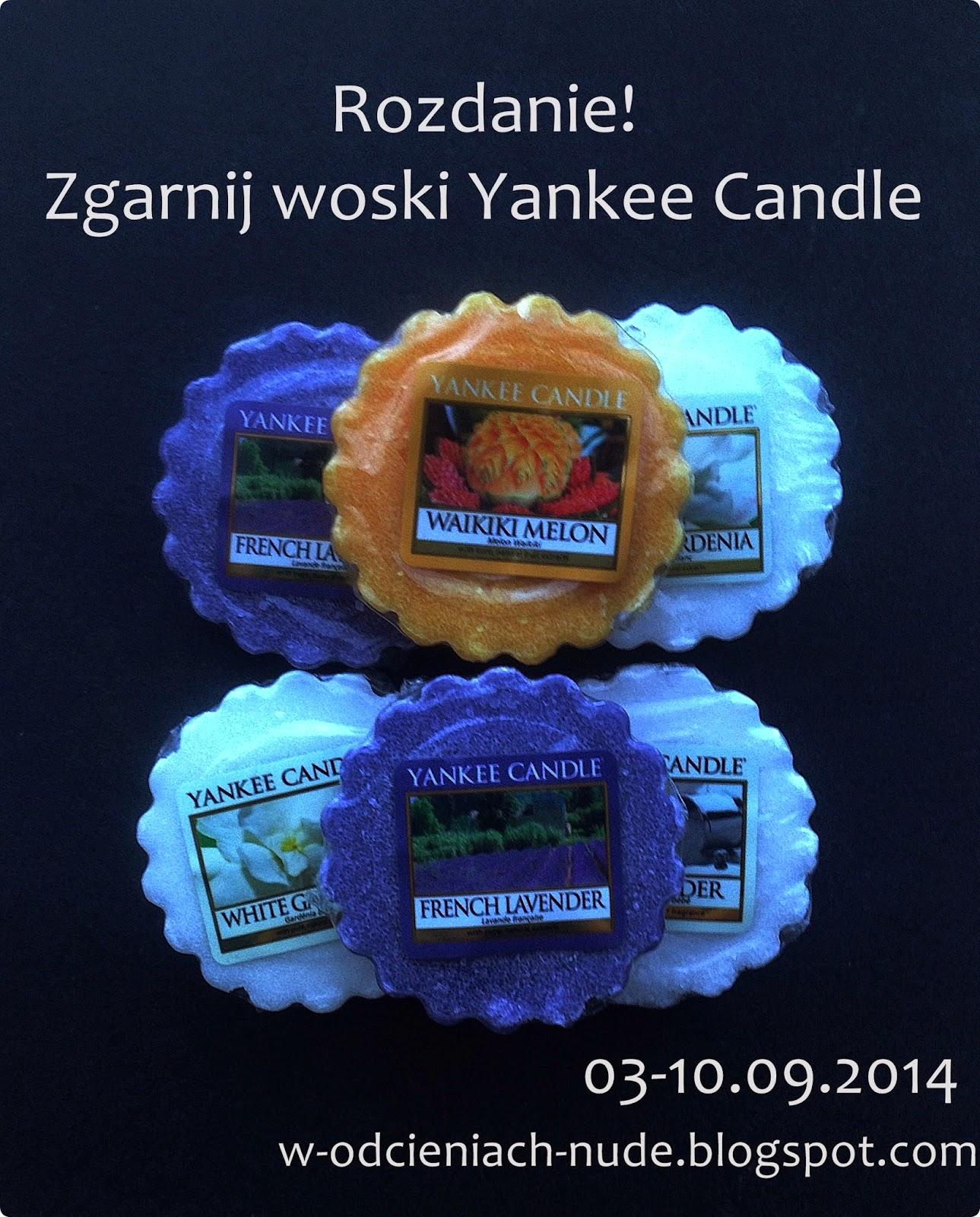Wygraj zestaw wosków Yankee Candle (03-10.09.2014)
