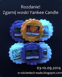 Zgarnij 1 z 2 zestawów wosków Yankee Candle, tylko do północy!