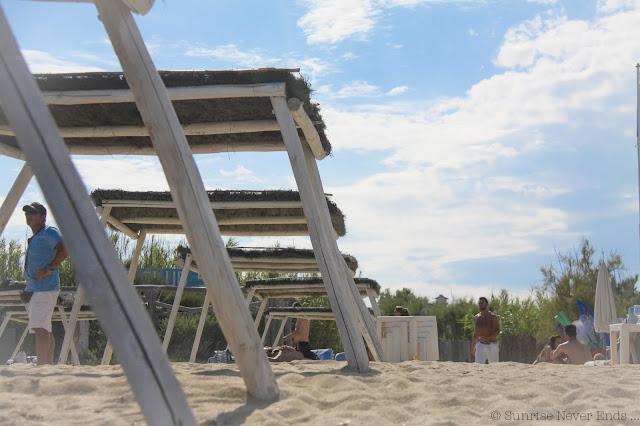 saint-tropez,le club 55, la plage, bleu