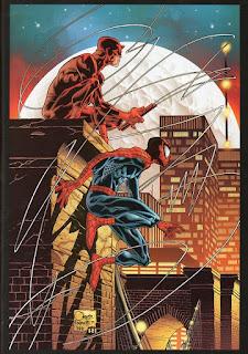 Capa da sexta edição da saga em quadrinhos Demolidor - Diabo da Guarda (Panini)