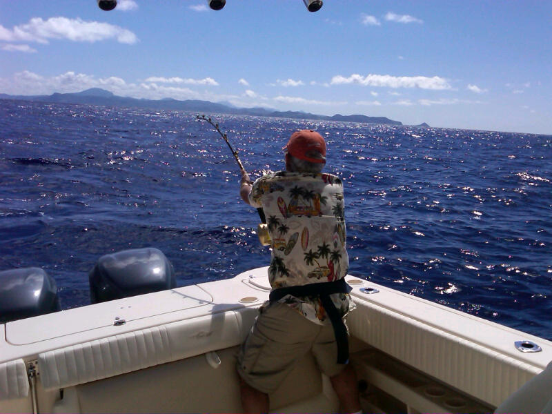 St lucia fishing charters for Deep sea fishing st lucia
