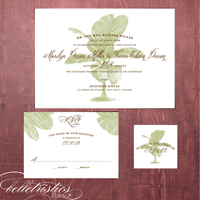 palm tree destination beach printable diy wedding invitation