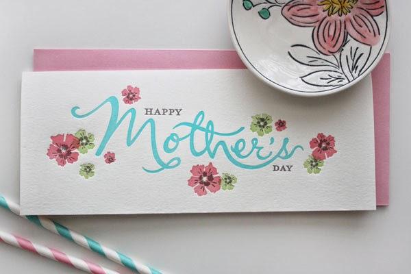 20 letterpress mothers day card ideas youll love jayce o yesta