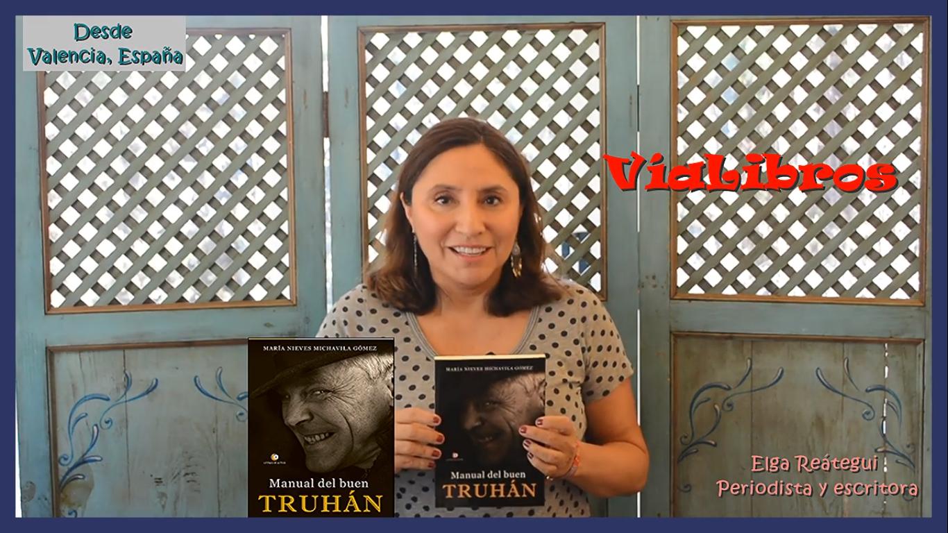 Vídeo reseña de Manual del buen truhán en Vía Libros (Elga Reátegui)