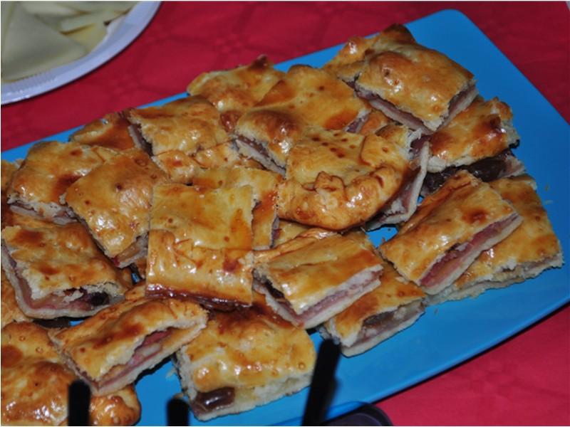 empanada de york queso bacon y dtiles