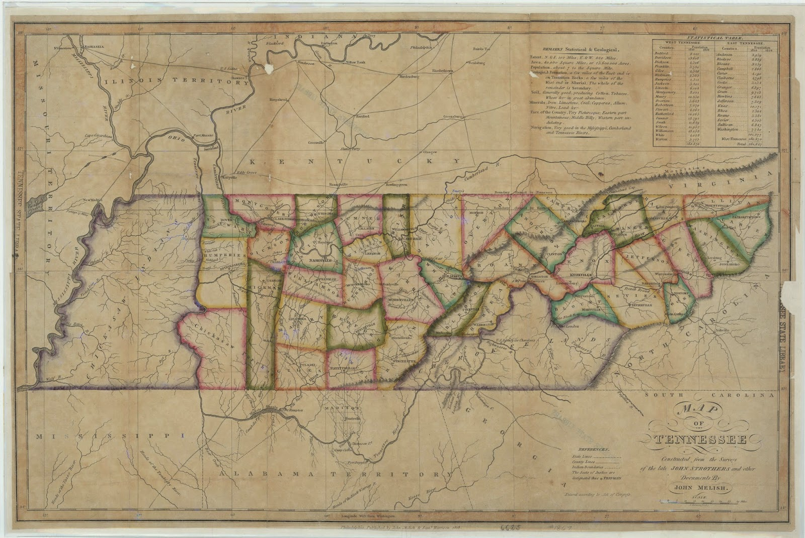 Library Archives News The Tennessee State Library And Archives - Tn state map