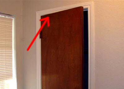 Тайник в двери. Процесс изготовления фото 1