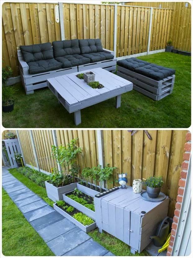 Idee fai da te per arredare il giardino donneinpink magazine - Idee per aiuole giardino ...
