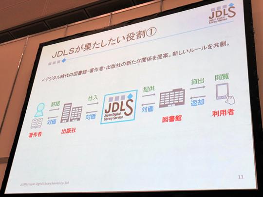 JDLSが果たしたい役割は著作者・出版社と、図書館・利用者を繋ぐこと