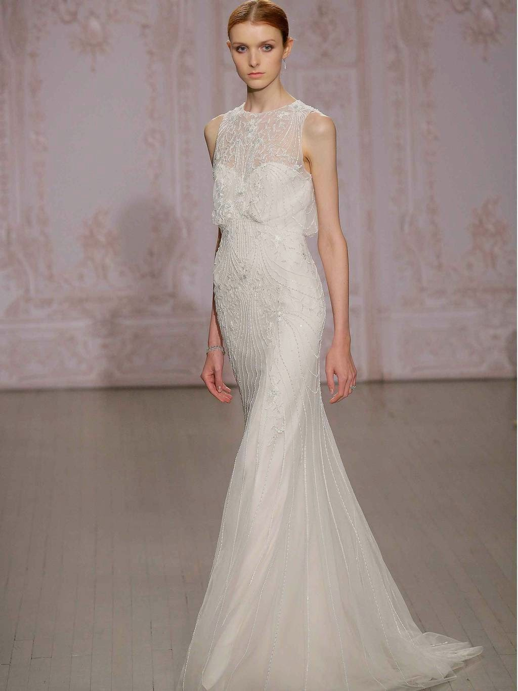 Best wedding dresses from the Fall 2015 collections ~ TRESCIENTOSESENTA