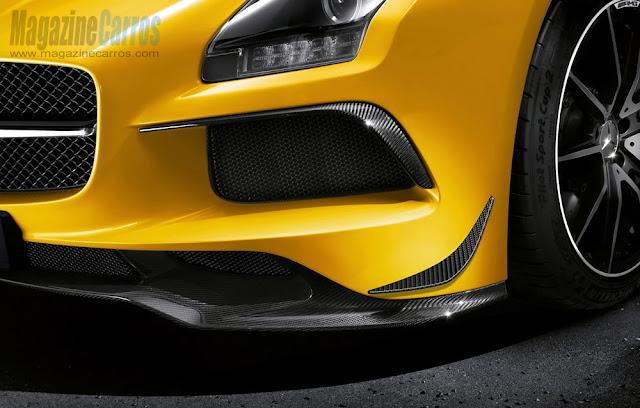 Para-choque do novo Mercedes-Benz SLS AMG Black Series 2014