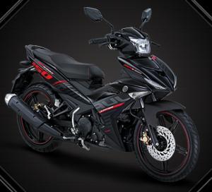 Motor Yamaha Jupiter MX King 150 - Warna Drift Black