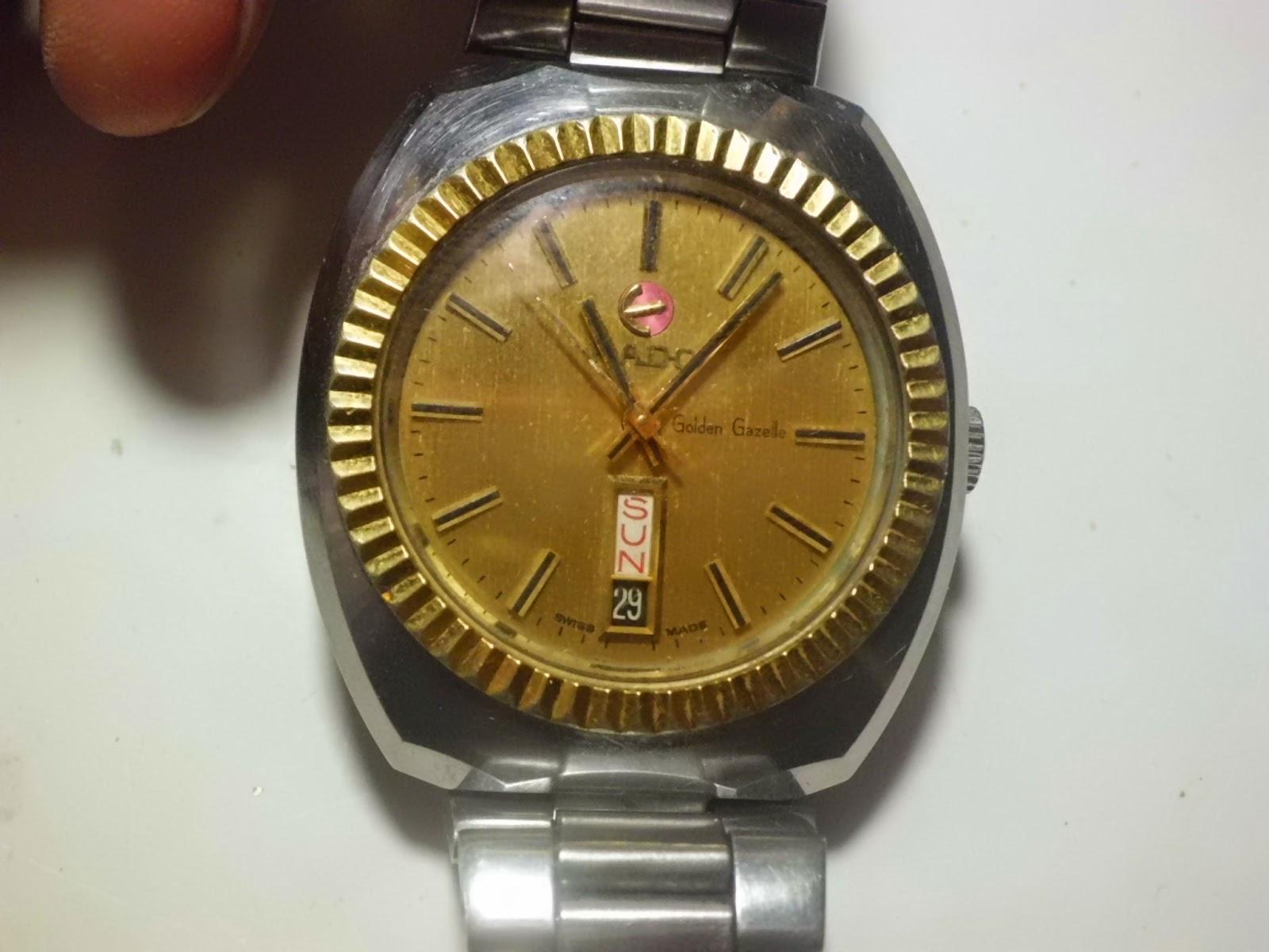 Jam tangan rado automatic ring gold jv 294