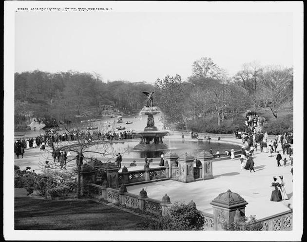 bethesda fountain 1905