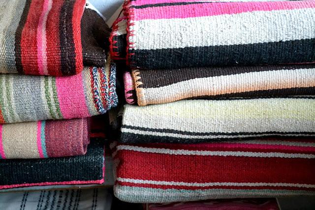 stripes, blankets, home, atomic garden, shopping
