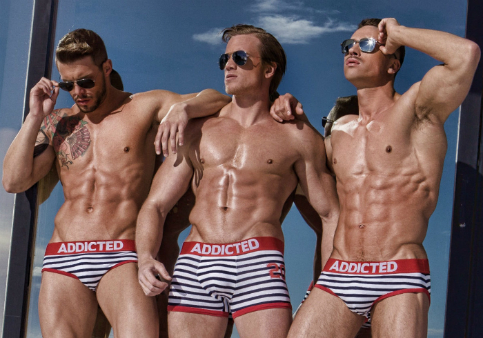 Bruno Rodriguez, Adam Fletcher and Dmitry Strigun • Male Models